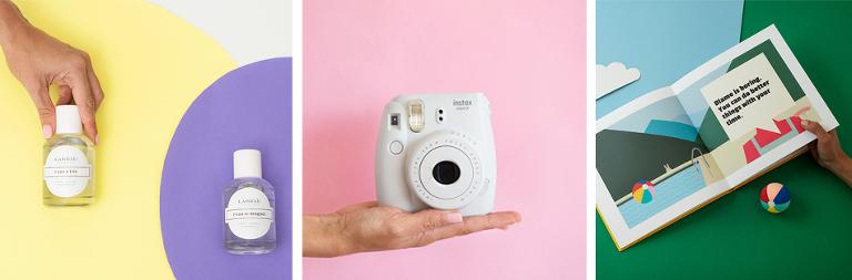 fotografía de producto para instagram